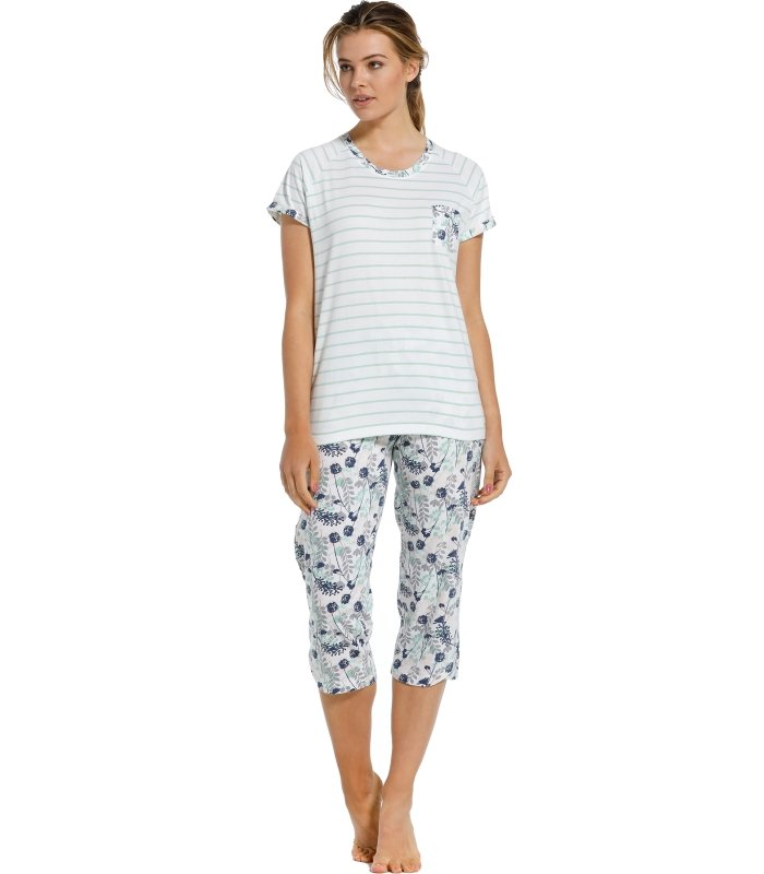 Pastunette Pyjama style 20211-131-2 with comfort and femininity