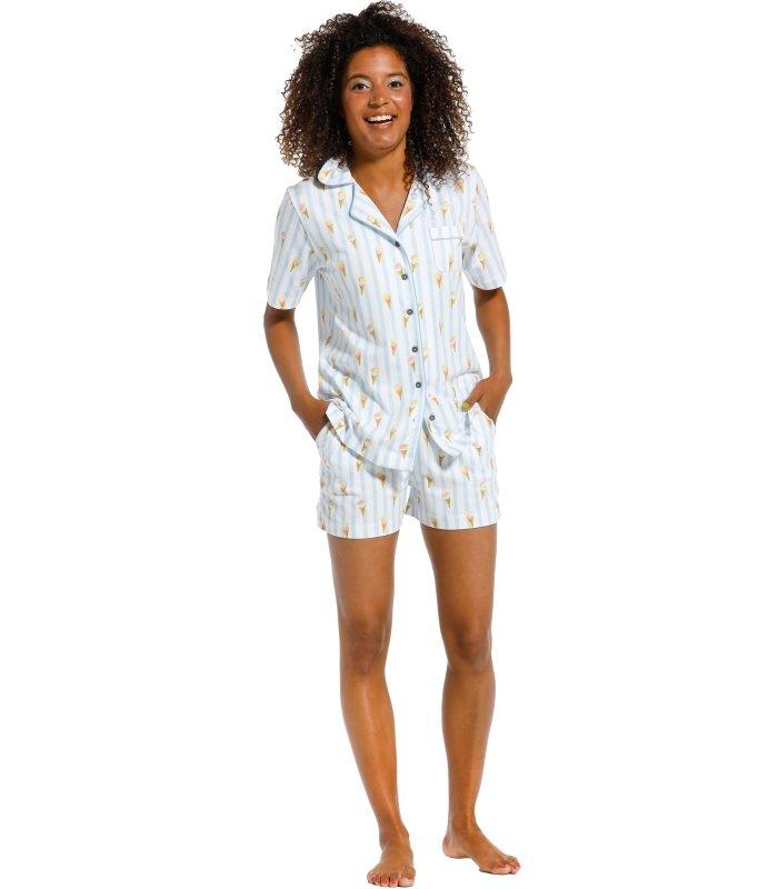 Pastunette Shorty Pyjama style 31211-414-6 with comfort and femininity