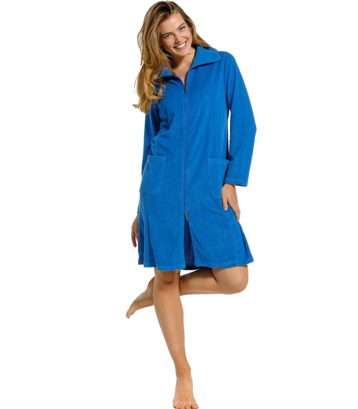 Pastunette Robe Style 70211-113-8 Blue with comfort and femininity